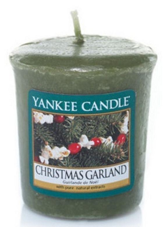 Sampler Yankee Candle Christmas Garland
