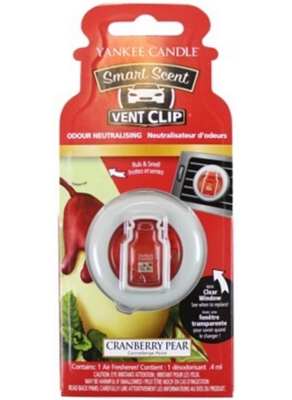 Car vent clip Yankee Candle Cranberry Pear
