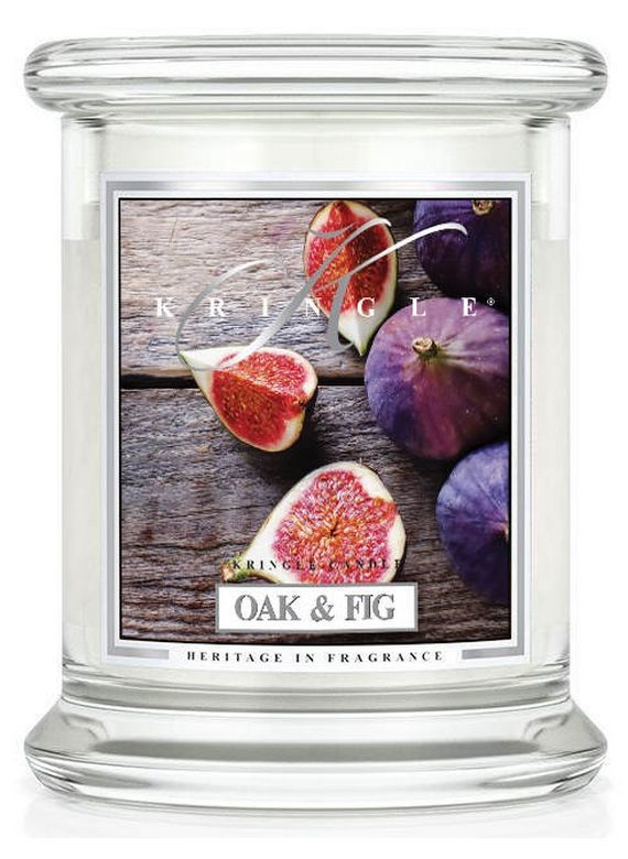 Medium 2 wick Classic Apothecary Jar Kringle Candle Lumberjack