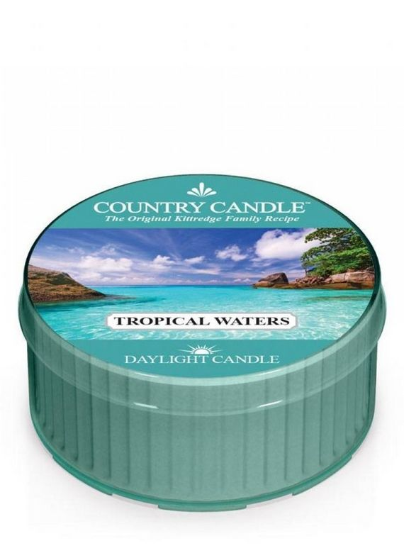 Świeczka zapachowa Daylight Country Candle Tropical Waters