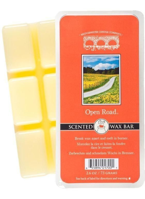 Wosk zapachowy Scented  Wax Bar Open Road 73 g Bridgewater Candle