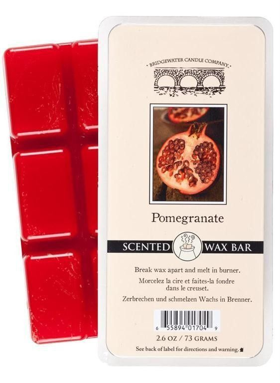 Wosk zapachowy Scented  Wax Bar Pomegranate 73 g Bridgewater Candle