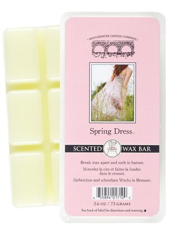 Wosk zapachowy Scented  Wax Bar Spring Dress 73 g Bridgewater Candle