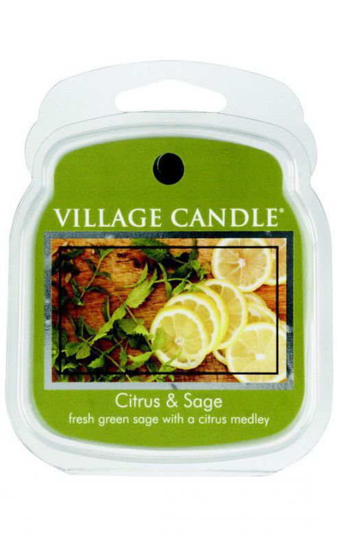 Wosk zapachowy Village Candle Citrus & Sage