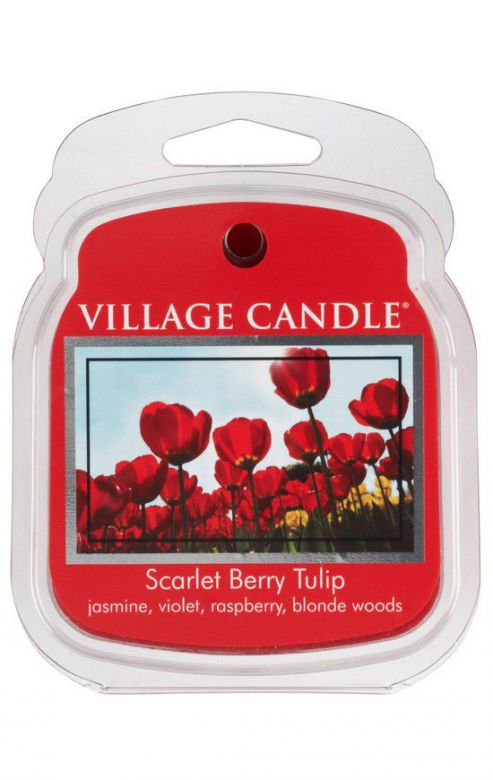 Wosk zapachowy Village Candle Scarlet Berry Tulip