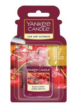 Zapach do samochodu Car Jar ULTIMATE Yankee Candle Black Cherry