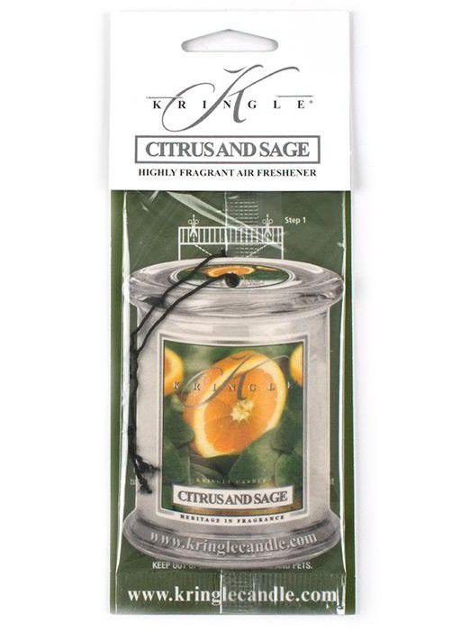 Air Fresheners Kringle Candle Cytryna i Szałwia Citrus and Sage