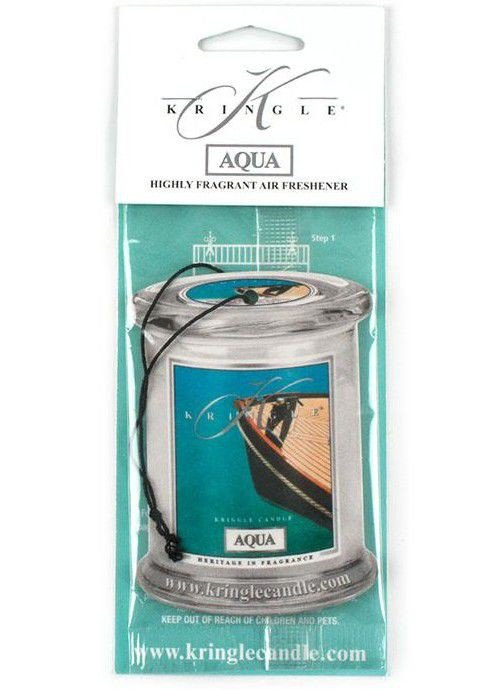 Air Fresheners Kringle Candle Turkusowa Głębia Aqua