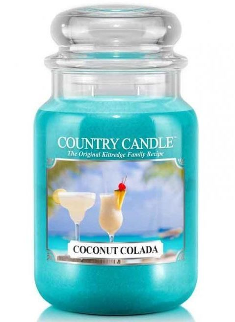 Duża Świeca Country Candle Coconut Colada