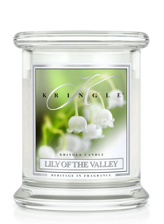 Medium Classic Apothecary Jar Kringle Candle Konwalia Lily of the valley