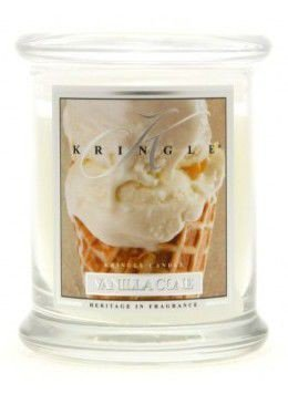 Medium Classic Apothecary Jar Kringle Candle Waniliowy Rożek Vanilla Cone