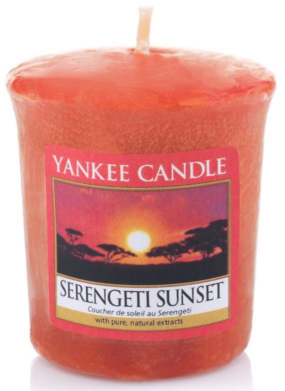Sampler Yankee Candle Serengeti Sunset