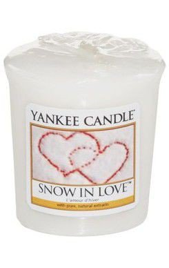 Sampler Yankee Candle Snow in Love