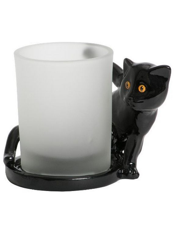 Świeczkin na votive  Yankee Candle Black Cats & Spider Webs