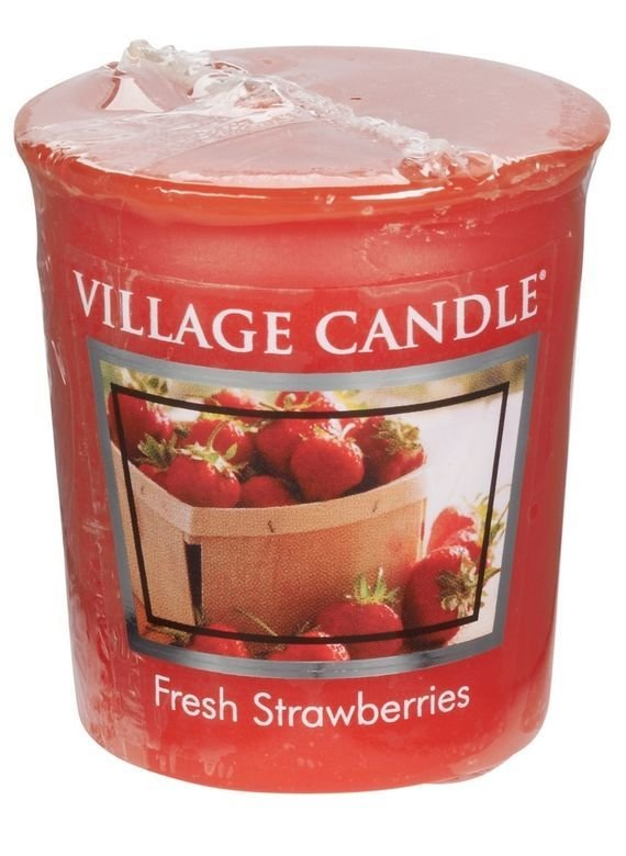 Votive świeczka zapachowa Village Candle Fresh Strawberries