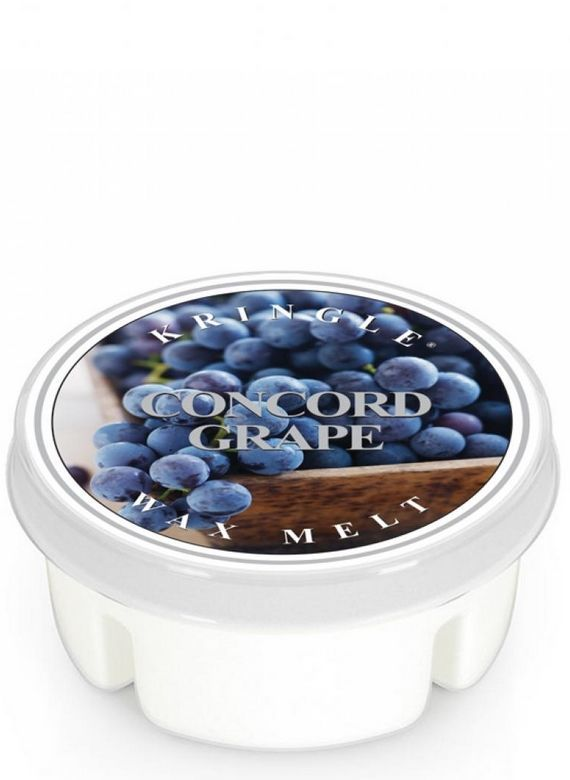 Wosk Kringle Candle  Concord Grape
