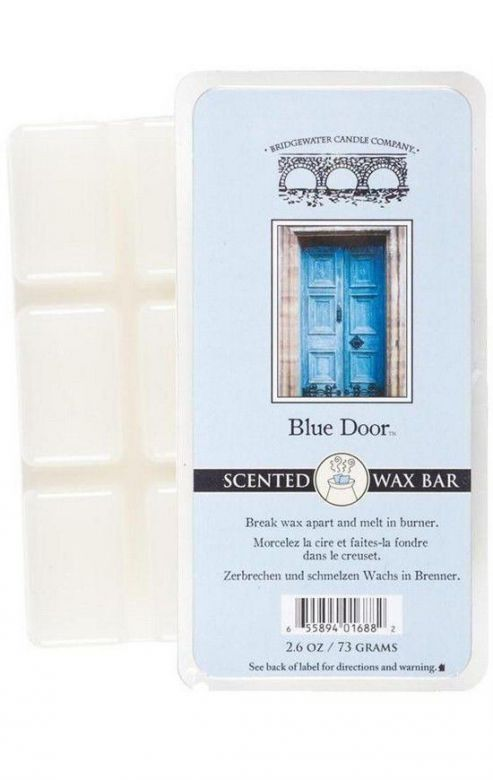 Wosk zapachowy Scented  Wax Bar Blue Door 73 g Bridgewater Candle