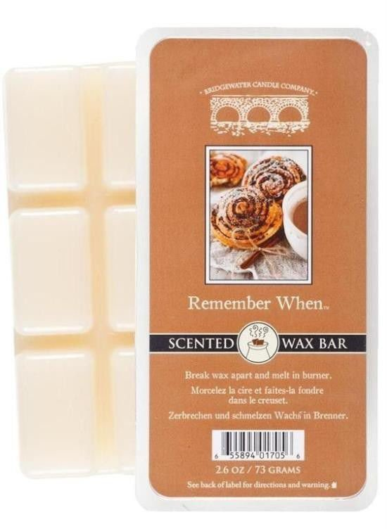 Wosk zapachowy Scented Wax Bar Remember When 73 g Bridgewater Candle