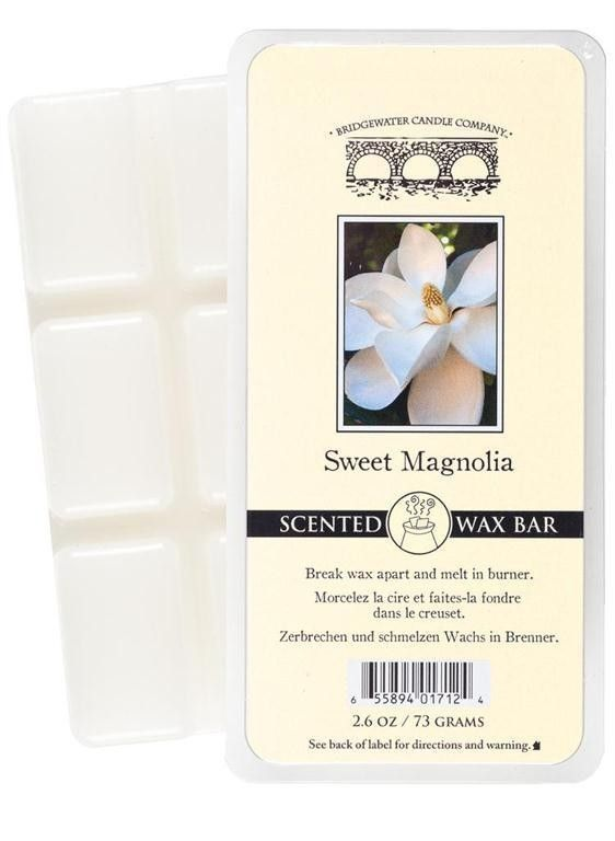 Wosk zapachowy Scented  Wax Bar Sweet Magnolia 73 g Bridgewater Candle