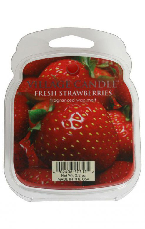 Wosk zapachowy Village Candle Fresh Strawberries
