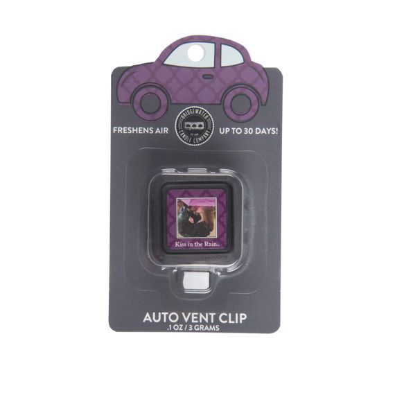 Zapach do auta Car Freshener Kiss in the Rain Vent Clip Bridgewater