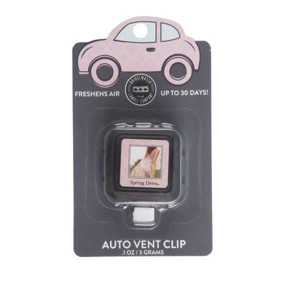 Zapach do auta Car Freshener Spring Dress Auto Vent Clip 3g Bridgewater