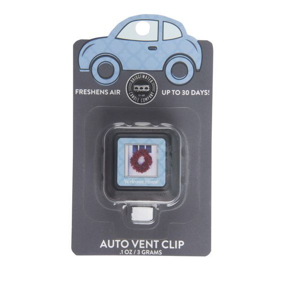 Zapach do auta Car Freshener Welcome Home Auto Vent Clip 3g Bridgewater