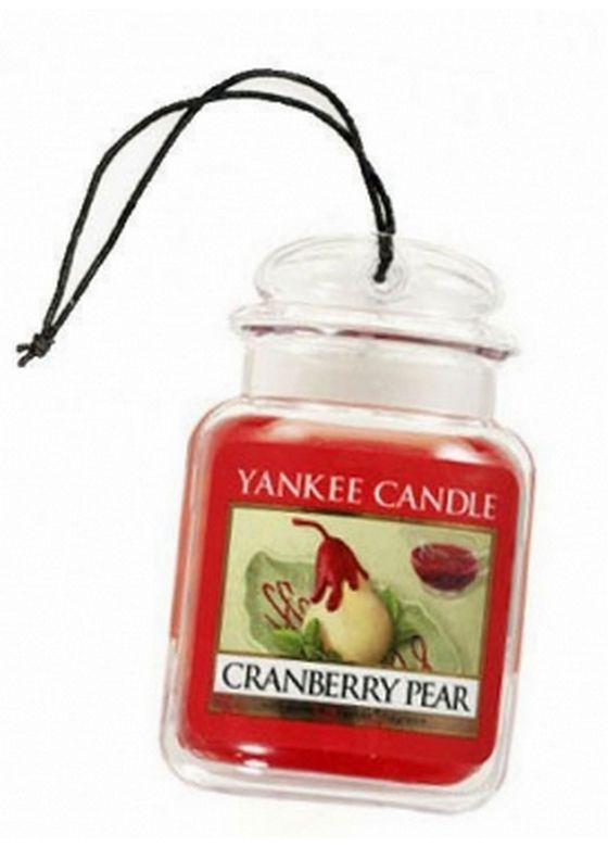 Zapach do samochodu Car Jar ULTIMATE Yankee Candle Cranberry Pear