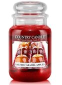 Duża Świeca Country Candle Salted Caramel Apples